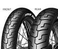 Dunlop K591 100/90 -19 51 V TL H.D., Predná Športové/Cestné