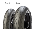 Pirelli Diablo Rosso III 120/60 ZR17 55 W TL Predná Športové