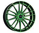 Alu disky Dotz Fast Fifteen green