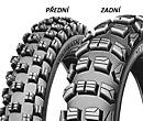 Pneumatiky Michelin CROSS COMPETITION M12 XC F Terénne