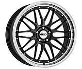 Dotz Revvo dark 8x19 5x120 ET42 Leštěný límec / Metalický šedý lak