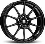 Sparco Gara (Black) 7x16 5x114,3 ET45 Čierny mat