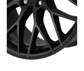 AEZ Antigua dark 8,5x20 5x120 ET24 Matne čierny lak