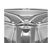 AEZ Portofino 7x16 5x112 ET48 Titanový lesk