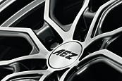 AEZ Raise 8x19 5x108 ET45 Leštěná čelní plocha / Metalický šedý lak