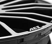 AEZ Strike 8x18 5x112 ET50 Leštená čelná plocha / Černý lak