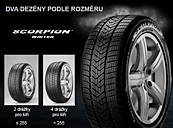 Pirelli SCORPION WINTER 255/55 R18 109 V XL FR ECO Zimné