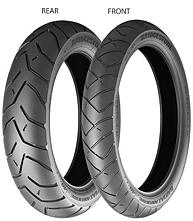 Bridgestone Battlax Adventure A40 120/70 ZR17 58 W TL G, Predná Enduro