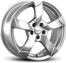 DBV Torino (KS) 7,5x17 5x100 ET35 strieborný lak