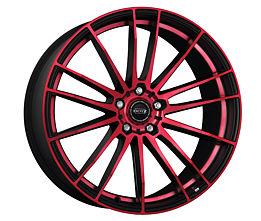 Dotz Fast Fifteen red 8,5x19 5x112 ET35 Leštená čelná plocha / Červený lak / Čierny lak