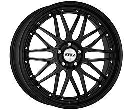 Dotz Revvo black edt. 8,5x20 5x112 ET35 Matne čierny lak