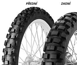 Dunlop D606 130/90 -18 69 R TT Zadná Terénne
