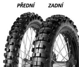 Dunlop GEOMAX ENDURO 90/90 -21 54 R TT M M, Přední Terénne
