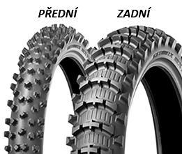 Dunlop GEOMAX MX11 100/90 -19 62 M TT Zadná Terénne