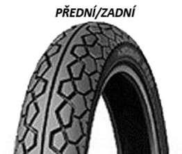 Dunlop K388 80/100 -16 45 P TL W0, Zadná + C3216: C3231 Športové/Cestné