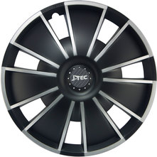 J-Tec Emotion Black 15'' černo/stříbrná (sada)