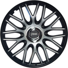 J-Tec Orden Black 15'' černá/stříbrná (sada)