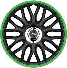 J-Tec Orden Green R 15'' černo/zelená (sada)