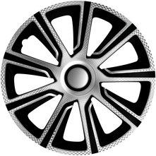 J-Tec Veron Carbon Silver Black 15'' stříbrno/černá (sada)