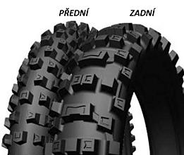 Michelin CROSS AC10 80/100 -21 51 R TT Predná Terénne
