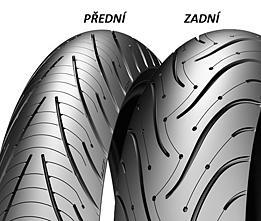 Michelin PILOT ROAD 3 180/55 ZR17 73 W TL B Zadná Športové/Cestné