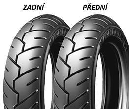 Michelin S1 100/90 -10 56 J TL/TT Předná/Zadná Skúter