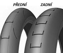 Michelin SM P18B 16/63 -17 TL Mokrá zmes, Zadná Závodné