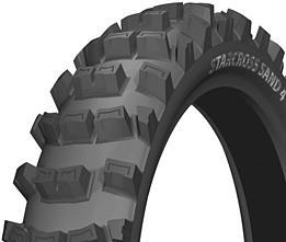 Michelin STARCROSS SAND 4 110/90 -19 62 M TT Zadná Terénne