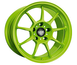 OZ ALLEGGERITA HLT 5F Green 10x18 5x130 ET40 Zelený lak