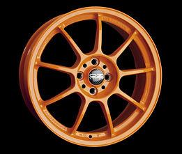 OZ ALLEGGERITA HLT 5F Orange 12x18 5x130 ET45 Oranžový lak