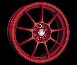 OZ ALLEGGERITA HLT 5F SR 11x18 5x120,65 ET75 Červený lak