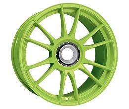 OZ ULTRALEGGERA HLT CL Green 9x20 15x130 ET55 Zelený lak