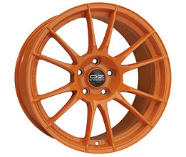 OZ ULTRALEGGERA HLT Orange 8,5x19 5x130 ET49 Oranžový lak