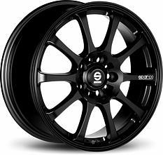 Sparco Drift (Black) 8x17 5x100 ET35 Čierny mat
