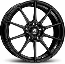 Sparco Gara (Black) 8x18 5x114,3 ET45 Čierny mat